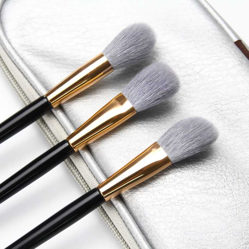 Pure wool purified from pure wool, fine and tender, light peak material, high gloss cosmetic brush, halo dyeing brush