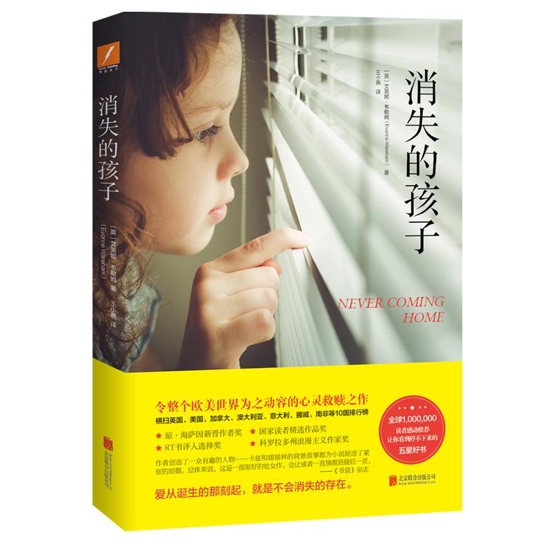 正版包邮 消失的孩子 令整个欧美世界为之动容的心灵救赎之作 爱从诞生的那刻起 就是不会消失的存在 外国文学 小说书籍