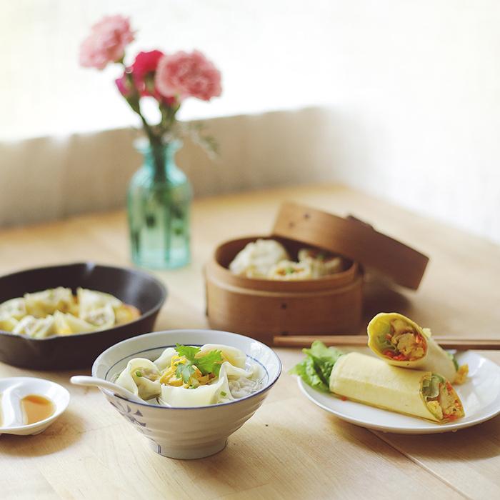【飤心暖食】包邮 元气早餐礼包 馄饨 烧麦 笋干肉丁包 杂粮煎饼