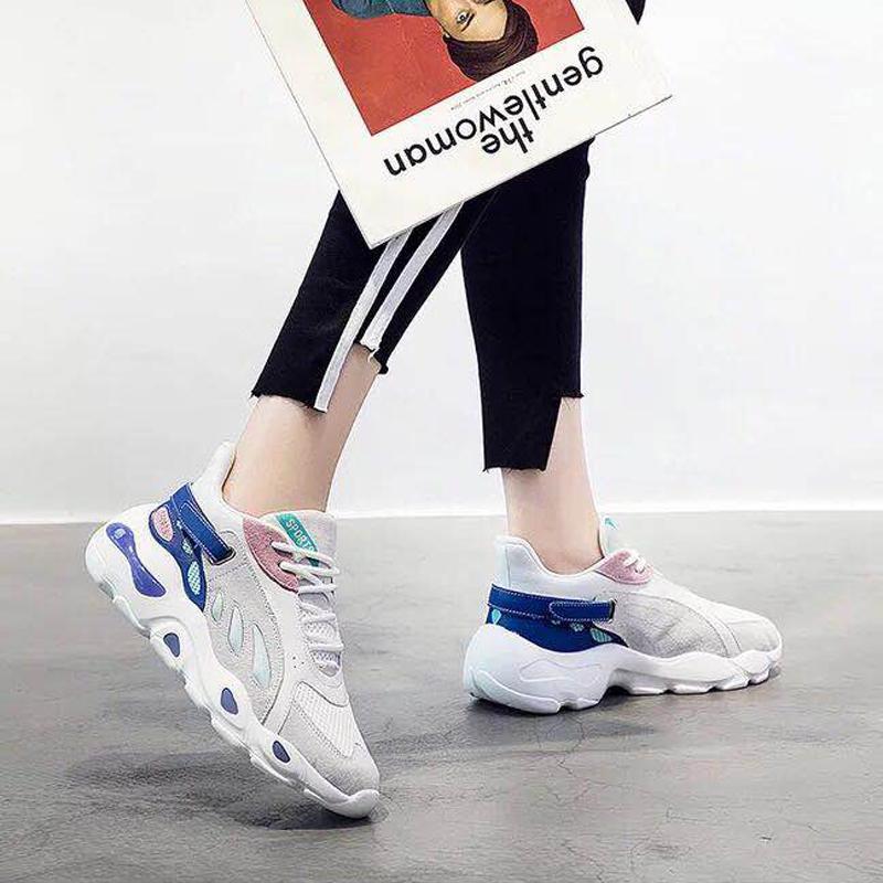 韩版新款h001蝴蝶休闲运动鞋