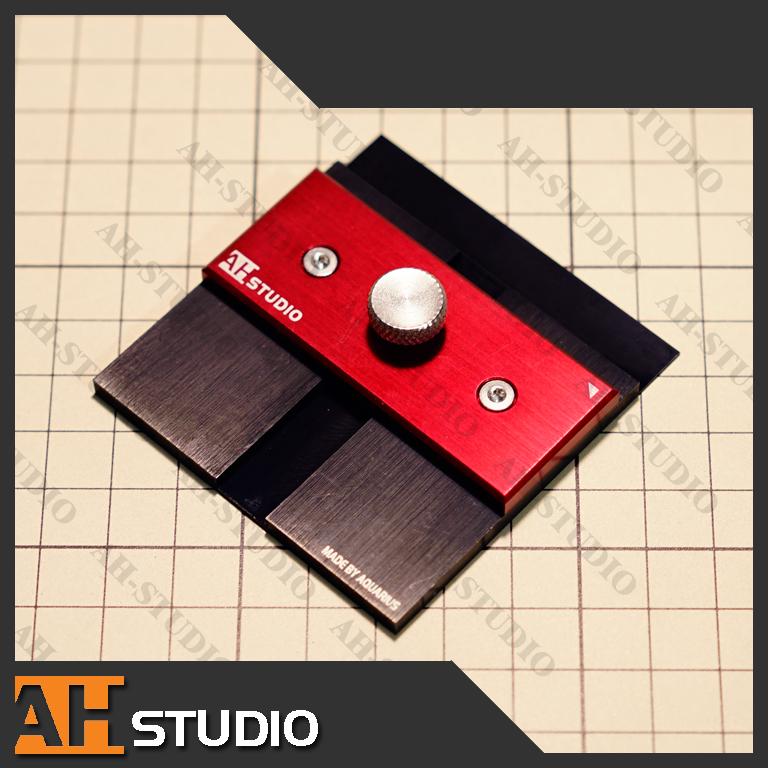 【AHS】水瓶模工坊 高达模型改造 定规 胶板 平行切割 划线器