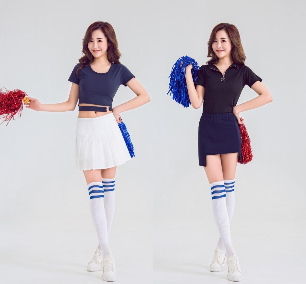 WS一件代发少女时代KARA同款啦啦操服装表演服拉拉队服开场舞服