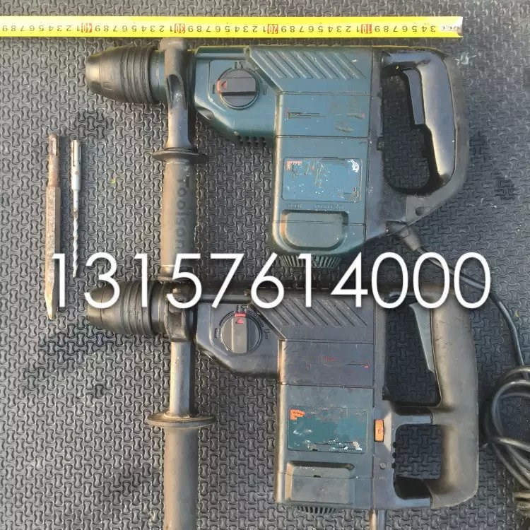 二手进口4DFE/4DSC三功能电锤电镐电钻电动工具水电开槽460.00元包邮