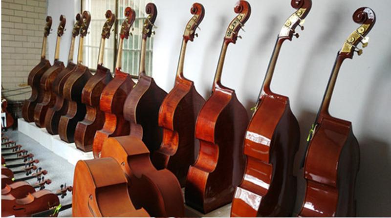 Начинающий, играющий на басовой виолончели высококачественный ручная работа цветок принт Бас-гитары полностью Большой массив из массива