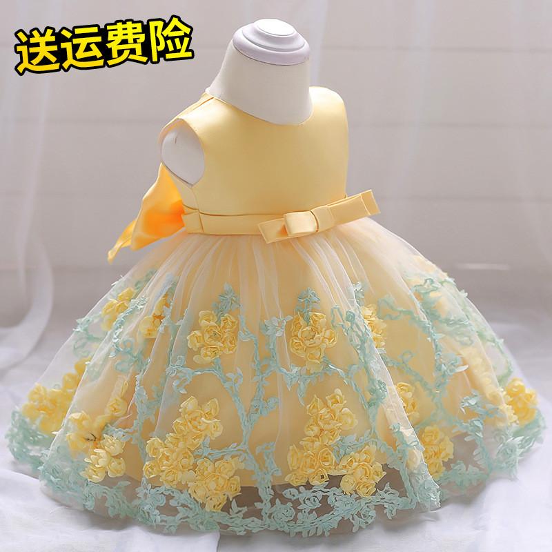 夏季新款6女童7公主裙8演出服