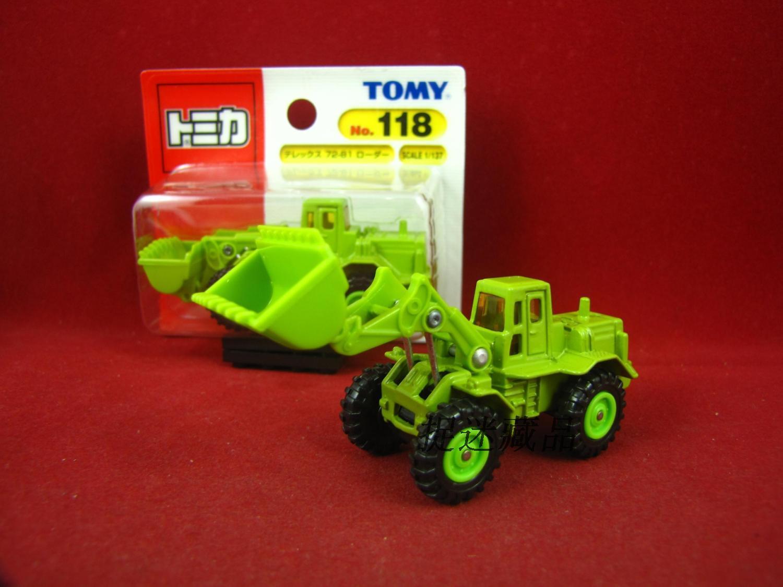 特价 TAKARA TOMY TOMICA合金车118号工老款 铲泥车