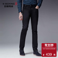 劲霸裤子新款弹力商务绅士时尚修身版休闲裤男简约|BQZL3326