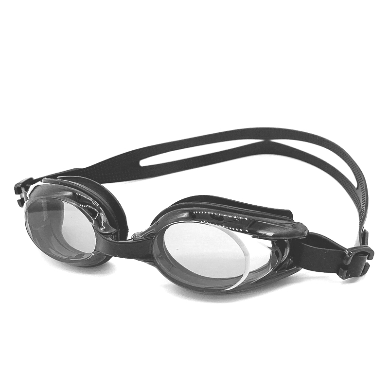 有赠品泳镜高清 舒适近视防水防雾游泳镜 专业男女平光有度数游泳眼镜