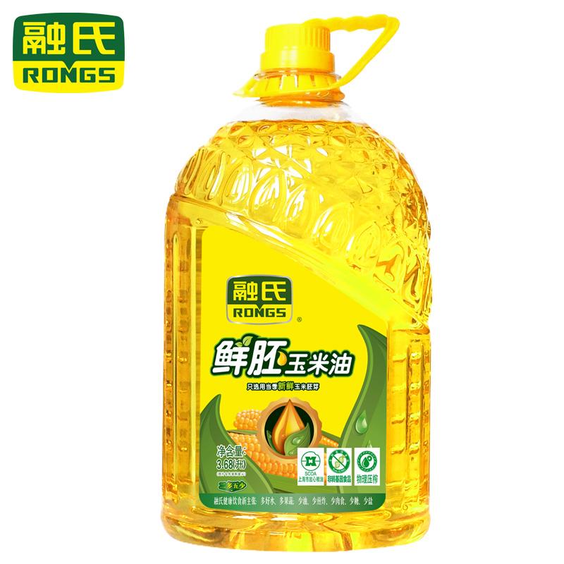 融氏 Rongs 鮮胚玉米油3.68L 食用油 糧油 包郵