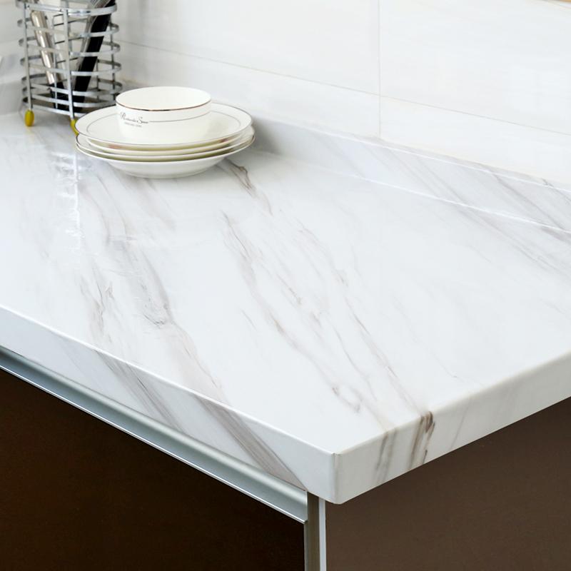 厨房防油贴纸柜灶台用仿台面贴纸