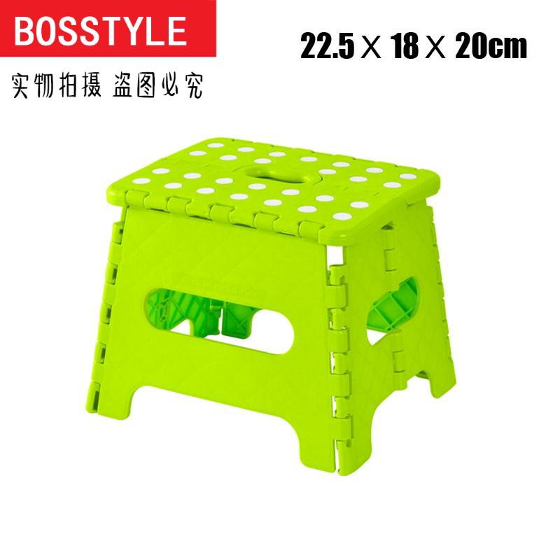 加厚塑料折叠凳户外便携式折叠椅子火车小凳子家用马扎成人小板凳