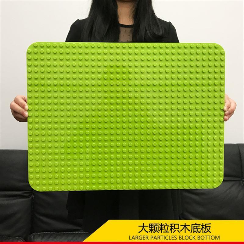 LEGO 兼容乐高积木 小颗粒 灰色大号底板10701 中号10699 10700