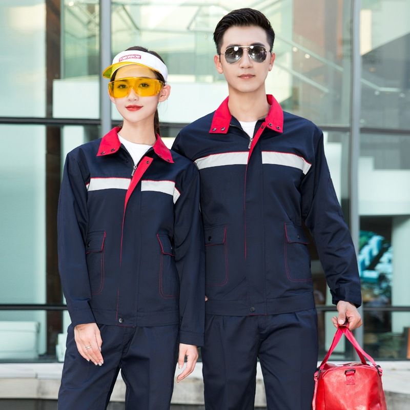 Anti static labor protection engineering uniform factory workshop electrician welder clothing automobile repair beauty clothing in winter