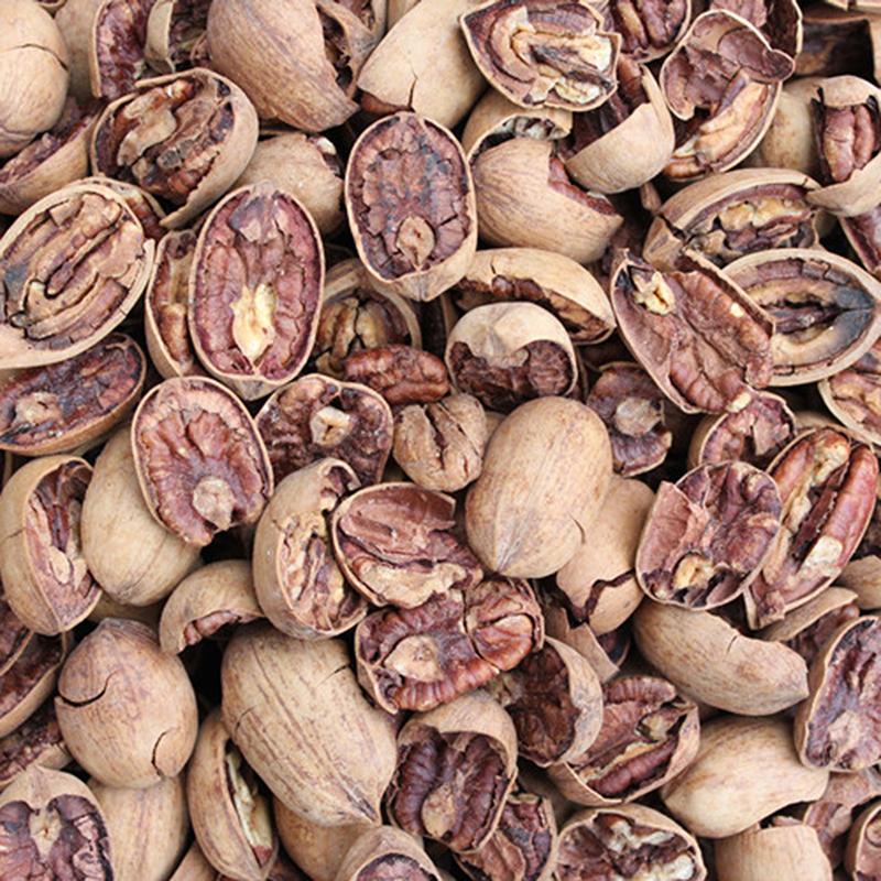 New half piece Bigan fruit bag American hickory [half piece] cream flavor super value bulk weighing 500g package