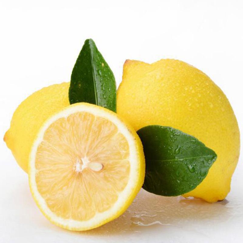 四川安岳黄柠檬2斤柠檬6-10个券后7.9元包邮