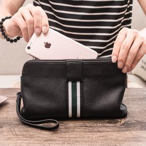 手包男真皮潮牌手拿包男式长款钱包手机包卡包一体包休闲男包挎包