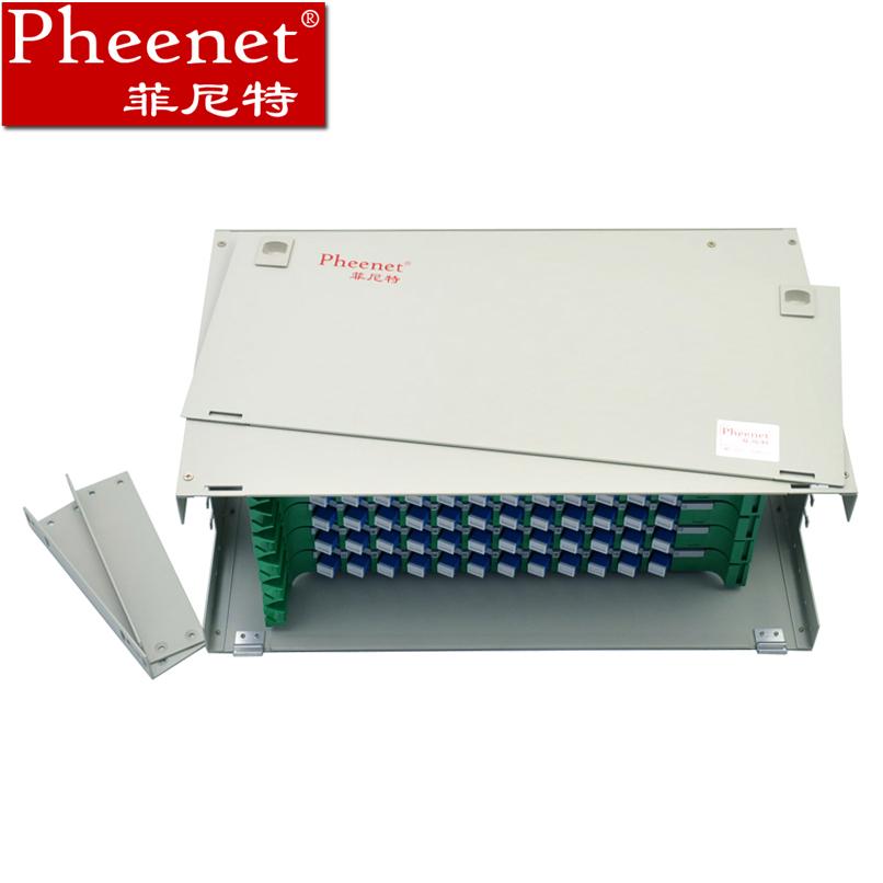 单模单元体熔纤盘SC光纤配线箱架满配ODF芯72菲尼特Pheenet
