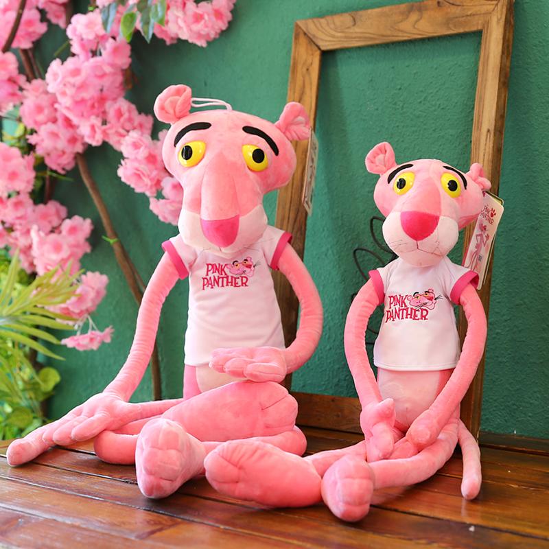 粉红豹公仔可爱达浪毛绒玩具粉红顽皮豹娃娃韩国少女睡觉抱枕女孩