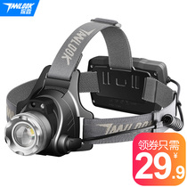 Probe LED headlamps strong light charging induction long shot 3000 headphones ultra bright night fishing lamp miner