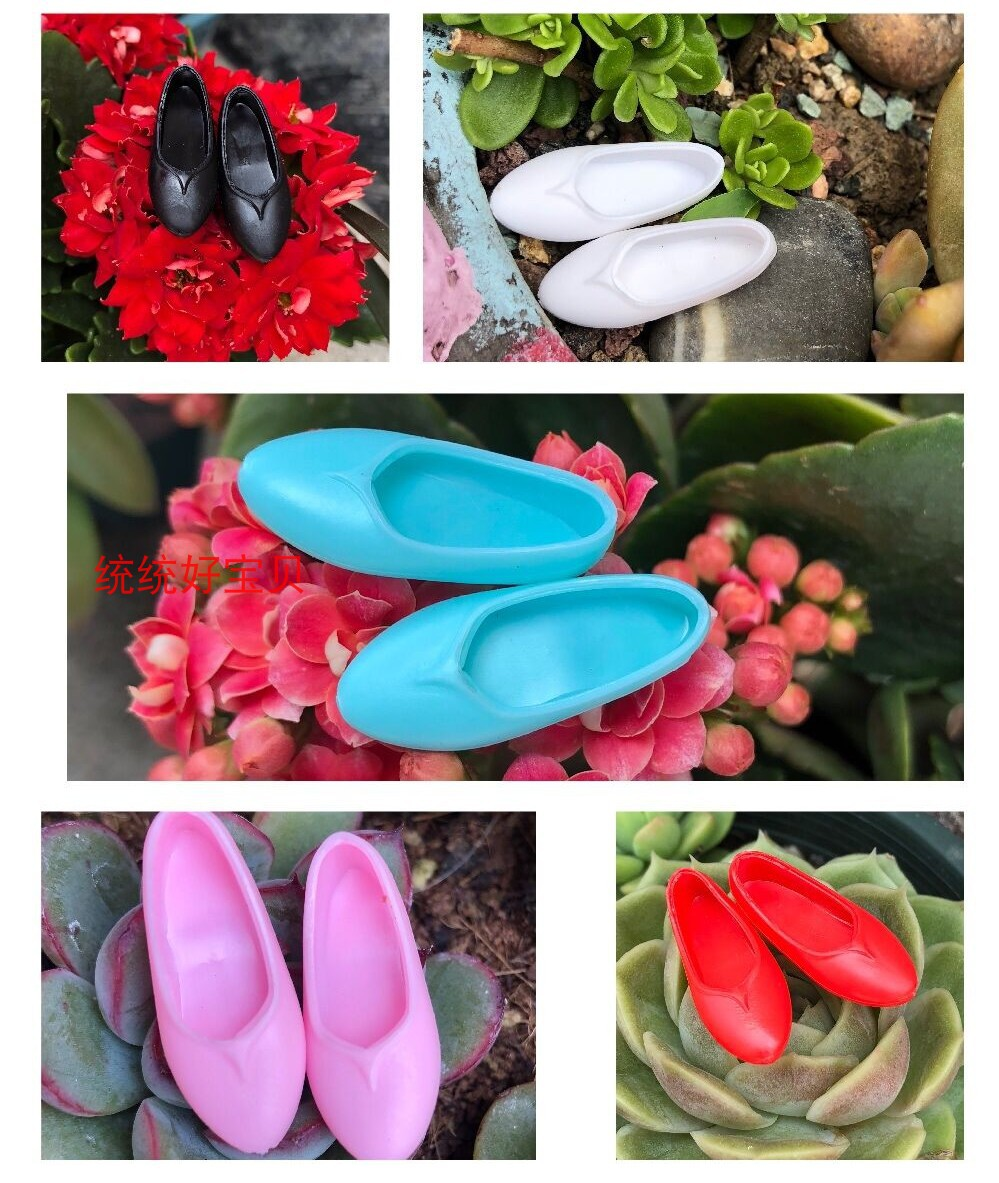 Suitable for 6-point Keer Xinyi doll spot flat shoes 6-point baby shoes 16 joint DIY baby shoes accessories BJD