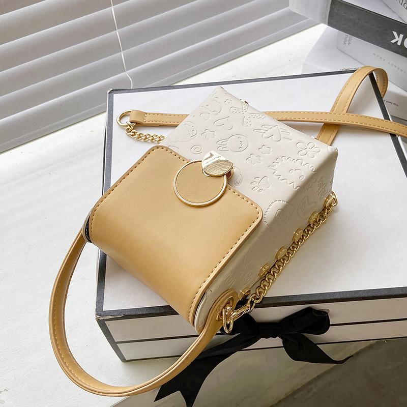 高级感手机包洋气手提小方包女2021新款斜挎小包包爆款时尚单肩包