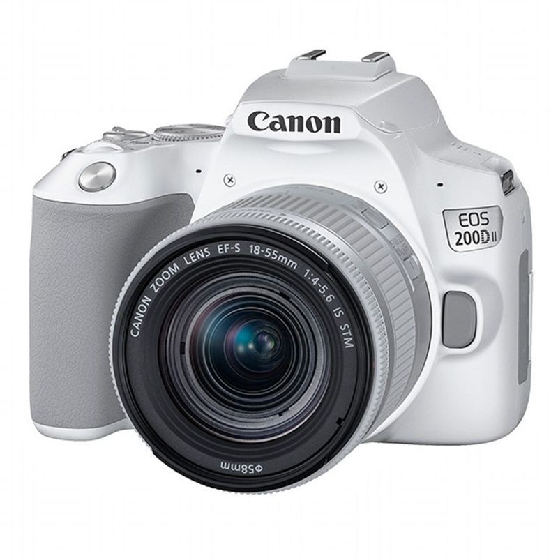 Canon 200D II 18-55mm is STM