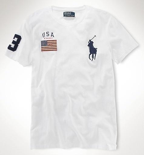 2019夏季潮款男装圆领运动t恤休闲纯棉美国街头个性USA短袖体恤男