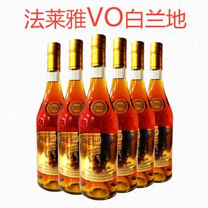 【6支】法萊雅VO白蘭地40度法國橡木桶窖藏葡萄蒸餾酒700ml洋酒