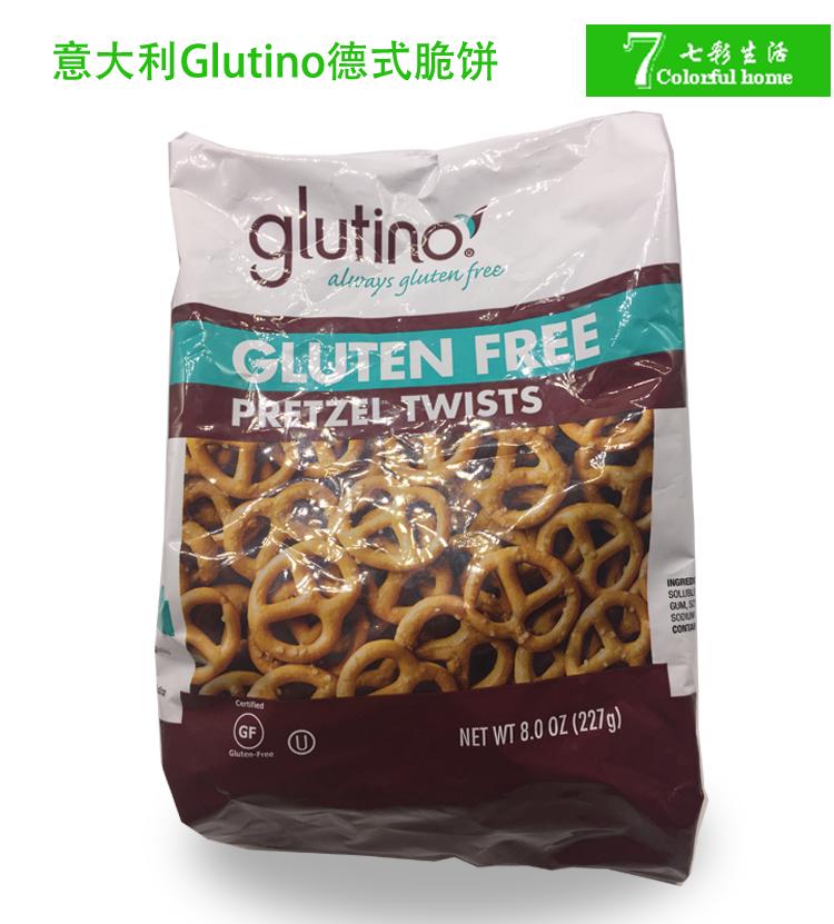意大利glutinopretzel德式��脆�不含小�����|零食包�b227g