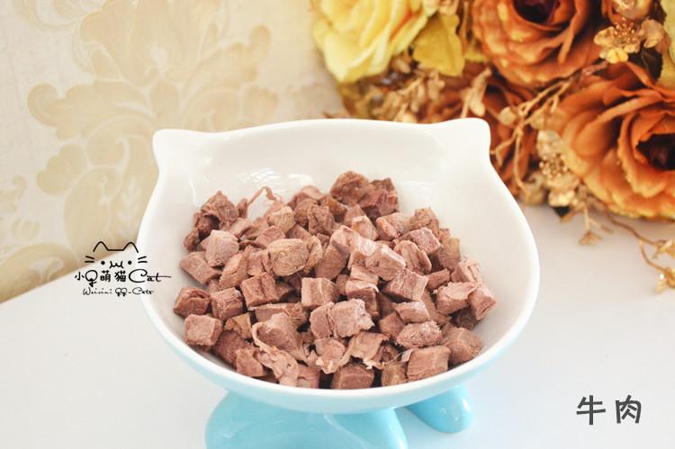 宠物猫狗冻干肉干零食鸡肉牛肉三文鱼鹿肉鸭肉多春鱼鹌鹑肝生骨肉