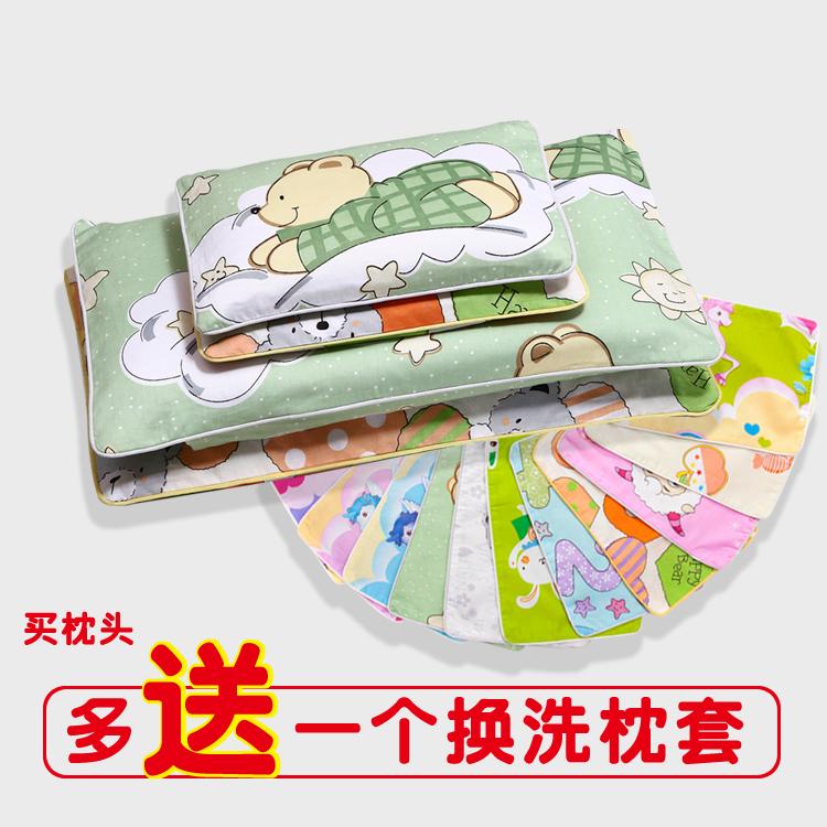 婴幼儿宝宝蚕沙清热除汗防痱子新生儿童乳胶绿豆壳荞麦午睡小枕头