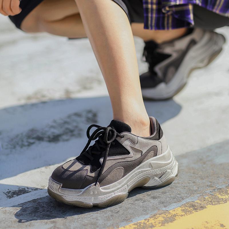 masoomake玛速主义复古ins松糕鞋