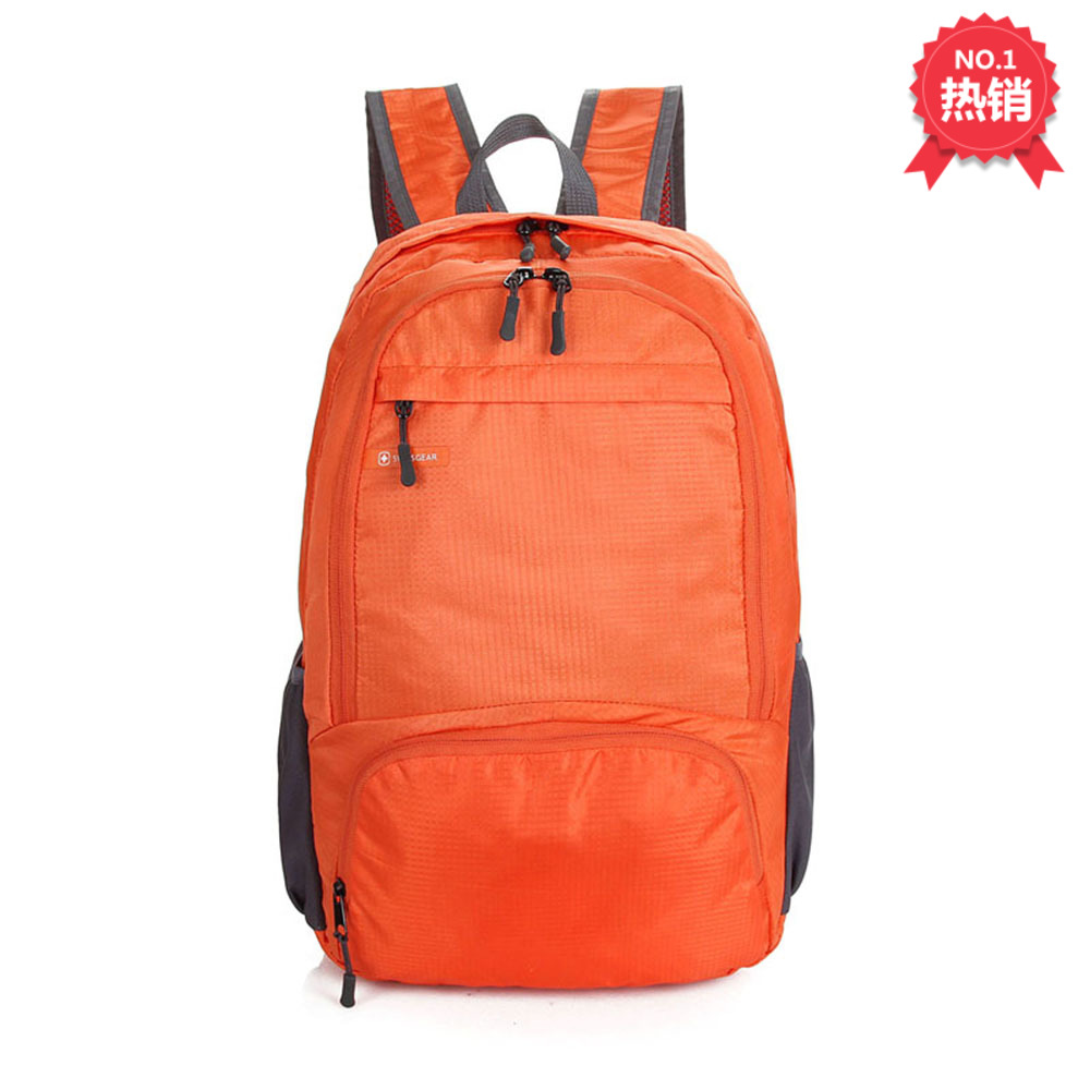 Mens and womens backpacks foldable backpack ultra light waterproof travel essential