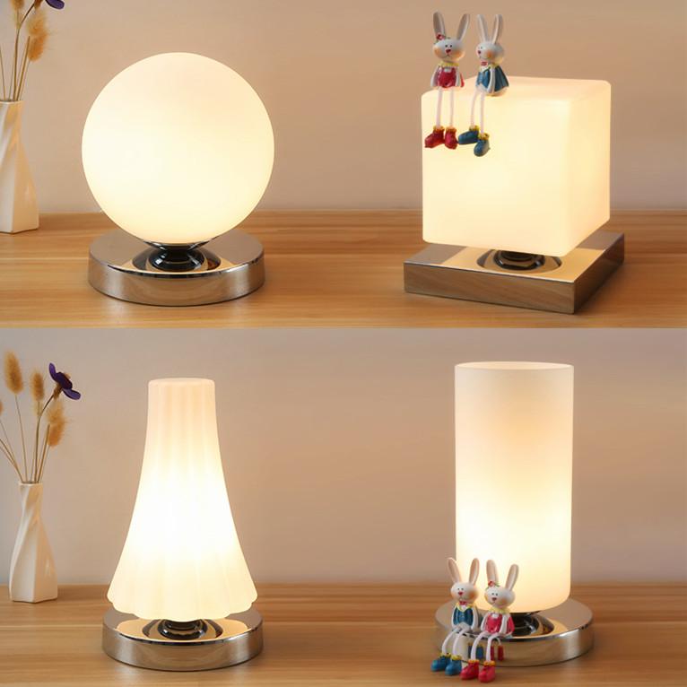 Маленький стол свет коснуться индукция дистанционное управление перестраиваемый оптический спальня прикроватный свет простой теплый ikea декоративный LED ночной свет