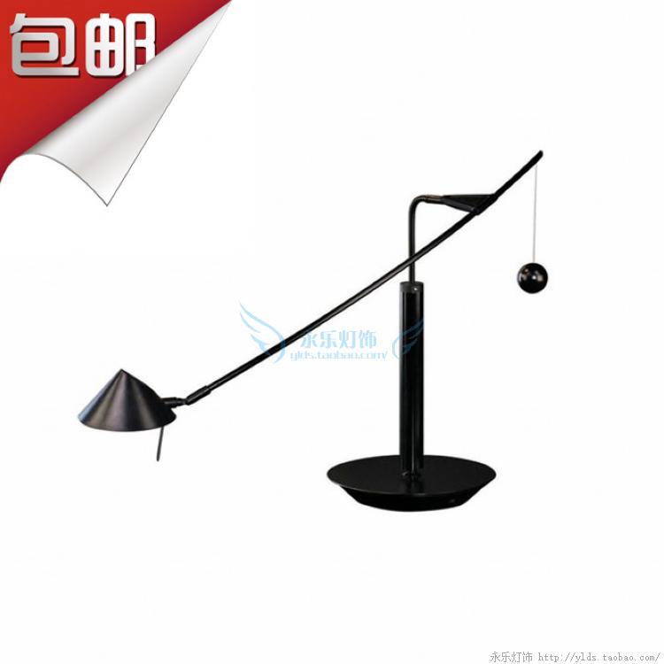 Nestore tavolo工程酒店星星月亮平行弧形平衡台灯具夏盟现代简约