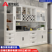 Wine Cabinets Modern minimalist complete European dining cupboard Cabinets restaurant combination multi-functional nordic Cabinets storage customization