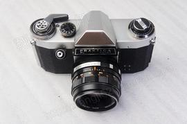 355收藏德国 Praktica NOVA I 功能正常老式古董胶片照相机带镜头