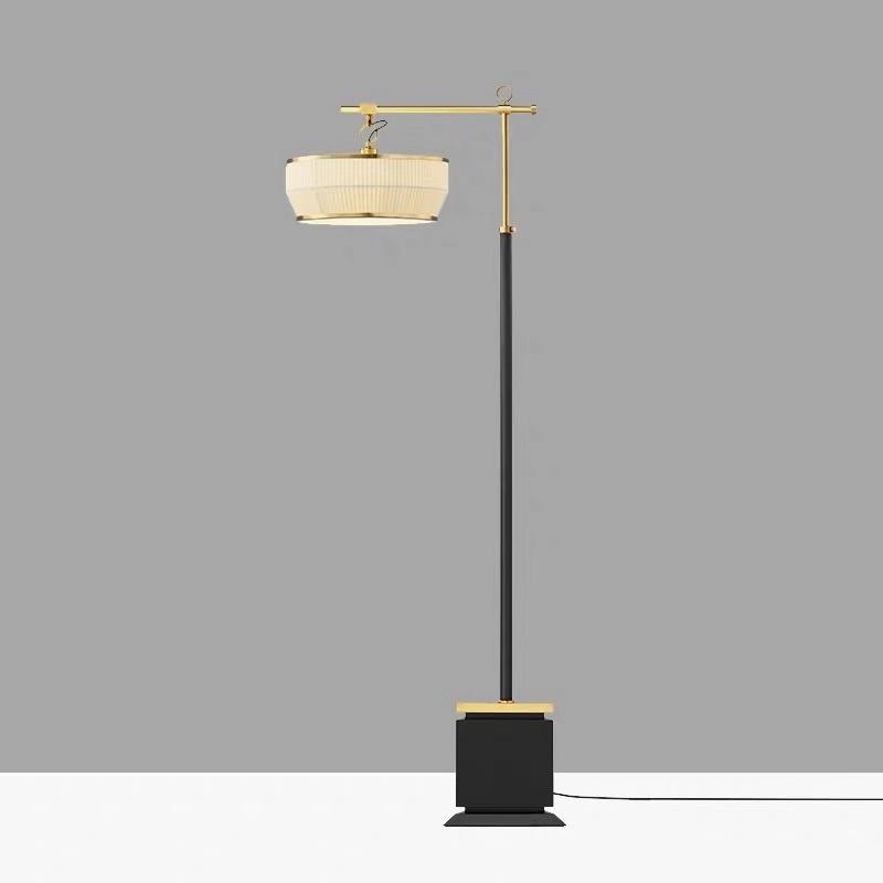 现代新中式古典简约家用立式灯具展厅餐厅书房卧室个姓客厅落地灯