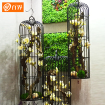 Hundred-Boundary iron decoration cage son floor flower frame large wedding decoration window decoration Photography Props