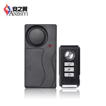 Ann Wing Wireless remote control vibration alarm door and window vibration burglar Alarm vibration alarm SF04