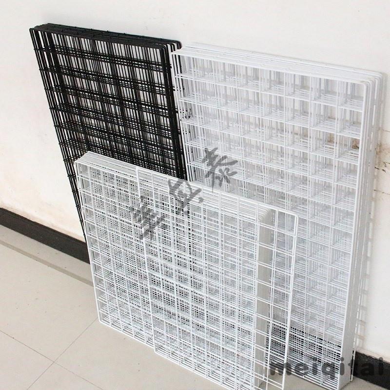 饰品网架挂墙置物架挂架墙面装饰网格挂网铁网格多功能小网格