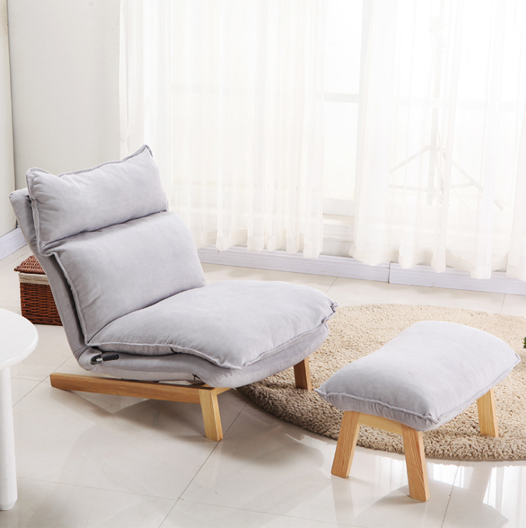 热销26件限时抢购无印系列懒人布艺沙发北欧单人躺椅