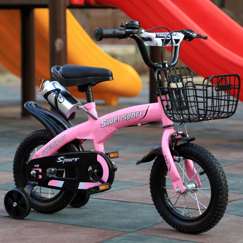 新款16寸小孩童车14 2-3-6岁自行车