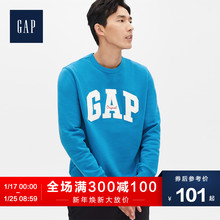 Gap men's fleece sweater round neck set 111735w autumn trend top loose Sweatshirt