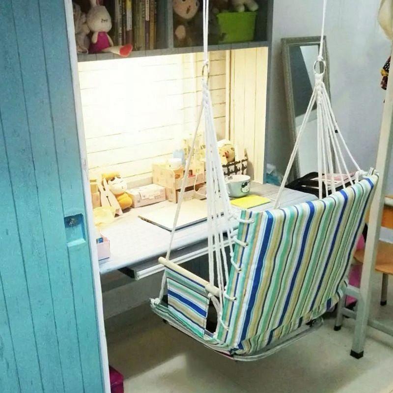 宿舍吊椅大学生寝室神器加厚可躺懒人椅子室内秋千户外吊床学生椅图片