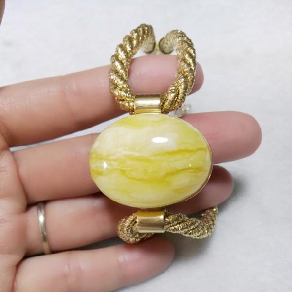 Baltic Amber white honeydew white flower honeydew Bracelet hand string jewelry support national inspection