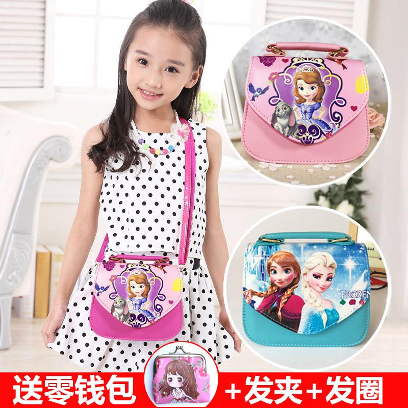 Корейский ребенок мешки маленькая девочка ребенок принцесса милый сумка софи азия девочки мешки мода плечо сумочку