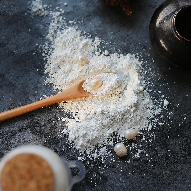 自磨纯珍珠粉不掺滑石粉温和面膜粉-白皙肌肤控油淡化痘印70g
