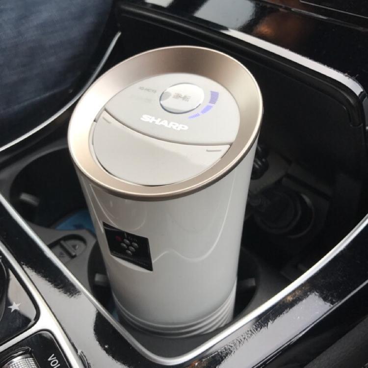 日本夏普车载空气净化器负离子ig-jc15 kc15车用除甲醛异烟味USB