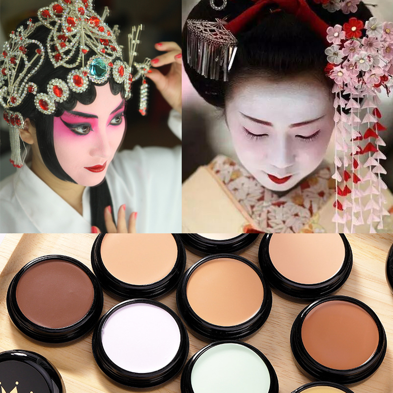 Mei Xi Er Mei black concealer, special makeup paste, shading cream, high gloss paste cos